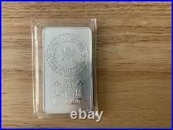 1 Silver Bar Canadian Maple Bullion. 999 Purity. UK INSURED MAILING