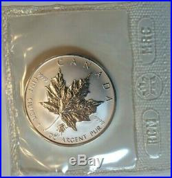 10 x 2004 Leo Privy Maple Leaf 1 oz. 9999 Silver Coin Canada COA mint sealed