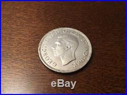 1947 Canada Silver Dollar Coin Rare Maple Leaf LK