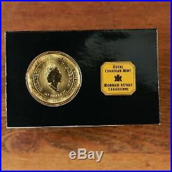 1997 Canada 1 oz Gold Mountie Maple Leaf CML In Original Packaging From CA Mint