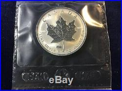1998 Canada Maple Leaf Titanic Privy. 9999 Fine Silver FACTORY SEALED LOT of 4