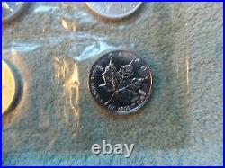 1999 Canada SILVER Maple 1 oz BU in Original Mylar (10 coin sheet)