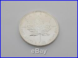 1oz Canada Maples 999 Silver x 9 Mixed Years