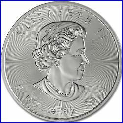 1oz x 10 Silver 999.9 Coin Canada Maple leaf 5 dollars
