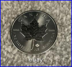 20 x 2020 Canadian 1 oz maple leaf 999.9 Silver Bullion Coin