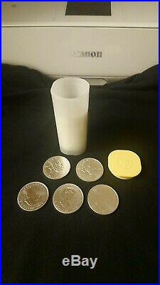 20 x Canadian Maple Leaf 1 oz silver bullion coins immaculate