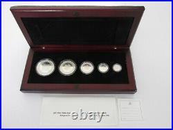 2003 Canada Fine Silver Maple Leaf Hologram Set
