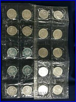 2004 Canada Maple Leaf 5 Dollars BU. 9999 Silver Sealed lot of 20 Coins E6571