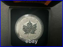 2005 Canada $5 1oz Tulip Privy Liberation Netherlands Silver Maple Leaf coin