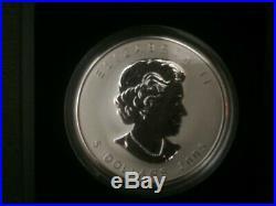 2005 Canada $5 1oz Tulip Privy Mark Silver Maple Leaf Coin