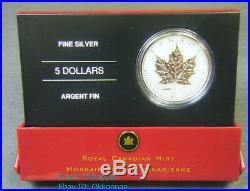 2005 Canada $5 1oz VE & VJ Privy Mark Silver Maple Leaf Coin Set. 9999 Fine