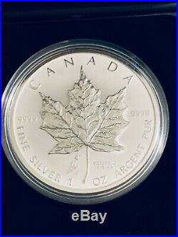 2005 Canada Tulip Maple Leaf Silver Key Date 3500 Mintage Rare