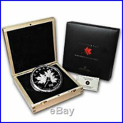 2011 Canada 1 kilo Silver $250 Maple Leaf Forever (withBox & COA) SKU #65606