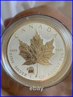 2012 Canada $5 1oz Titanic Privy Mark Maple Leaf Silver BU Roll 16