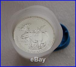 2012 Canada Moose Maple Leaf 9999 Silver 25 Coins Tube Bu Gem