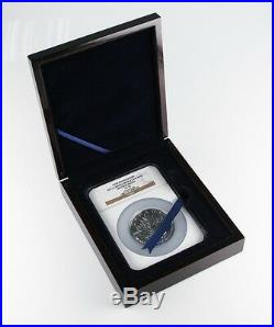 2013 25th Anniversary Canadian 5 oz. 9999 Silver Maple Leaf S$50 Reverse PF-70