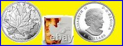 2013 Canada Maple Leaf 1 Oz Silver Pcgs Pr 70 Dcam H. R. 25th Ann F. S Box Coa