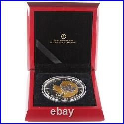 2013 Canadian $50 Dollar 25th Anniversary of the Silver Maple Leaf Coin 5oz 9999