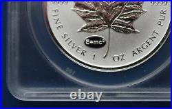 2014 Silver Maple Leaf with Einstein (E=mc2) Privy Mark ANACS PF70 DCAM