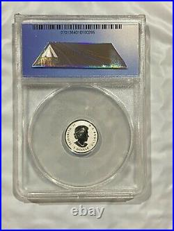 2015 ANACS RP 70 DCAM Canada / Canadian Silver Maple Leaf 5 Coin Set 1.9 oz