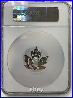 2015 Canada Maple Leaf Silver $20 Early Release PF 70 Ultra Cameo NGC
