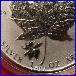 2016-2018 Wolf Grizzly Cougar Moose Bison Antelope Maple Leaf 1 oz Silver Canada