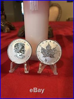 2016 Canada 25 ROLL 1 oz Silver Maple Leaf Lunar Monkey Privy Last One