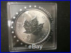 2016 Canada $5 F15 Privy Mark Silver Maple Leaf Coin 1oz. 9999 fine Fabulous 15