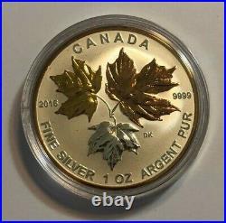 2016 Canada Fine Silver Maple Leaf Fractional Set, Longest Reigning Sovereign