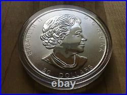 2017 10 oz. $50 Canada Maple Leaf SILVER. 9999 coin ON SALE