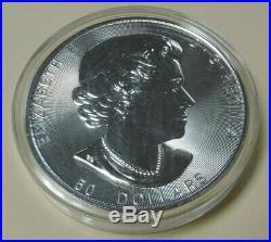 2017 10oz. 9999 Fine Silver Canada Maple Leaf Coin