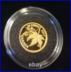 2017 50 Cent Pure Gold Coin The Silver Maple Leaf