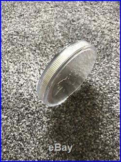 2017 Canada 10 Oz Silver Maple Leaf Coin Bu No Milk Spots