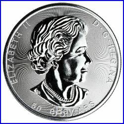 2017 Canada 10 oz Silver Maple Leaf (First Year). 9999 BU++ in Original Capsule