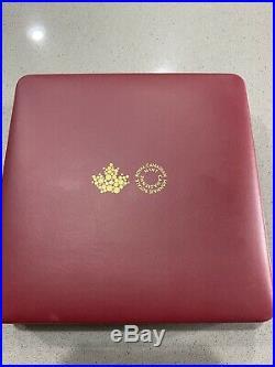 2017 Canada Fine Silver Maple Leaf Quartet Set. 9999 Square Bars 1/4 oz each