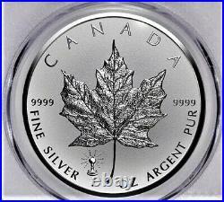 2018 1 oz Silver Canada Maple Leaf Light Bulb Privy Reverse Proof PCGS PF69268