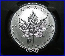 2018 $5 Canada Silver Maple Leaf Ngc Pf69 Bison Buffalo Privy Rev Proof Fr Retro