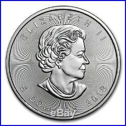 2018 Canada 1 oz Silver Maple Leaf BU Lot of 25 SKU #161550