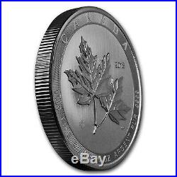 2018 Canada 10 oz Silver $50 Magnificent Maple Leaves BU SKU#166660