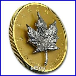 2018 Canada 30th Anniv. Of the Silver Maple Leaf Proof $200 3D Pure Gold Coin