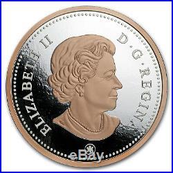 2018 Canada 5 oz Silver $1 Big Coin Series Maple Leaf (One-Cent) SKU#172269