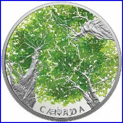 2018 Canadian Canopy The Maple Leaf $30 Fine Silver Coin