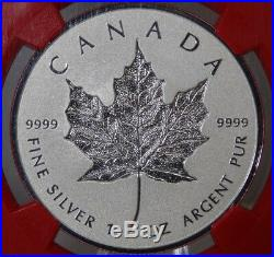 2018 Reverse Proof Silver $20 Canadian Maple Leaf Ngc Pf70 30th Ann. 1st Release