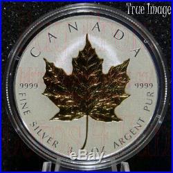 2019 40th Anniversary of Gold Maple Leaf GML $50 3 OZ Pure Silver Coin Canada