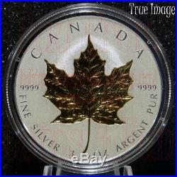 2019 40th Anniversary of Gold Maple Leaf GML $50 and $20 Pure Silver Proof Coins