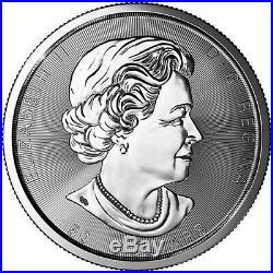 2019 Canada 10 oz Silver. 9999 Fine $50 Maple Coin Brilliant UNC+