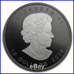 2019 Canada 2 oz Silver $10 Silver Maple Leaf (Limited Edition) SKU#177985