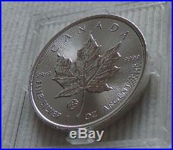 2019 Canada $5 Privy Mark f15 Maple Leaf 1 oz silver coin Fabulous capsule