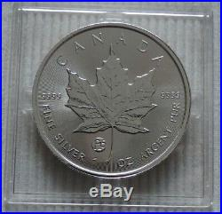 2019 Canada $5 Privy Mark f15 Maple Leaf 1 oz silver coin Fabulous capsule