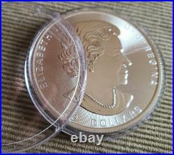 2020 10 oz. $50 Canada Maple SILVER. 9999 purity coin